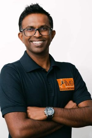 Camberwell Physiotherapist Nad Perera, founders, Alive Physio